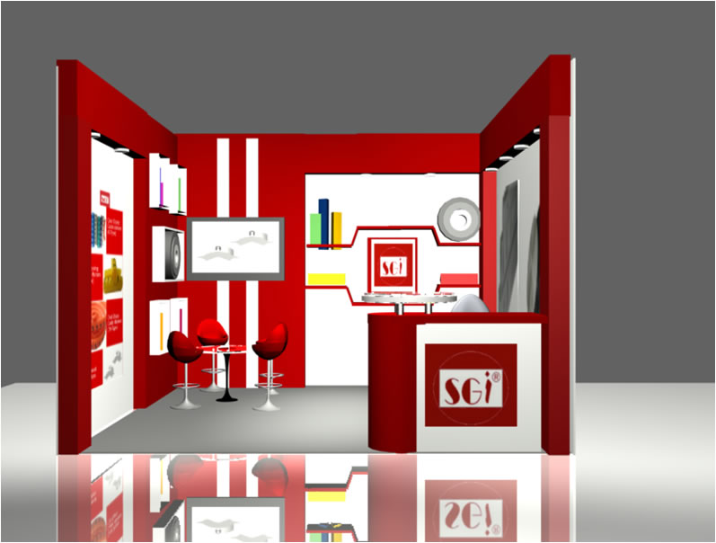 Exhibition Design Stalls