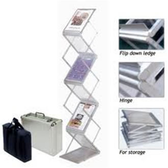 Catalogue Stand Catalogue Stands, Portable Brochure Stand, Folding Leaflet Stand, Magazine Rack, Mumbai, Delhi, India